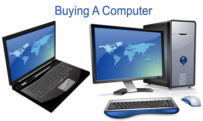 Buy a Computer Laptop and Desktop